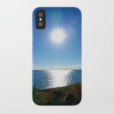 Solitaire Sky iPhone X Slim Case