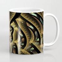 goldfish Mugs featuring Goldfish by Klara Acel