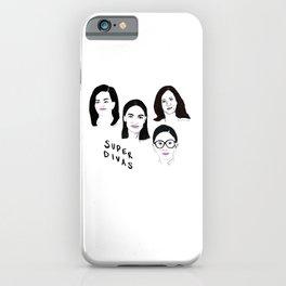 Super Divas iPhone Case