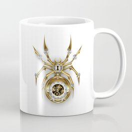 Spider with Clock ( Steampunk ) Coffee Mug