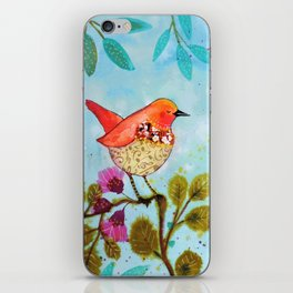 le son de mon coeur iPhone Skin