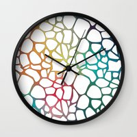Abstract Net Wall Clock