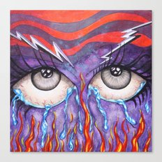 Expressive Eyes Canvas Print