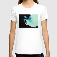 surfing T-shirts featuring Surfing by CSNSArt