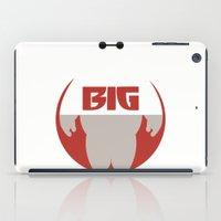 big hero 6 iPad Cases featuring Baymax Big - Big Hero 6 by Dwieta Kreavi