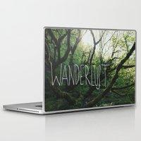 wanderlust Laptop & iPad Skins featuring Wanderlust by Leah Flores