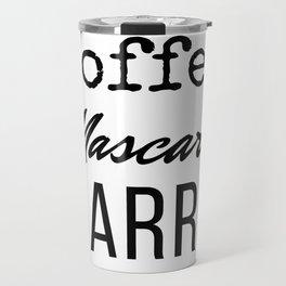 Coffee Mascara Barre Travel Mug