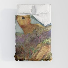 "Odilon Redon ""The Cyclops"" Comforters"