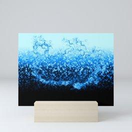 Water Splash Mini Art Print
