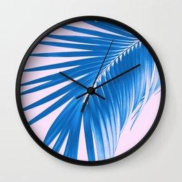 Palm Leaf Dream #2 #tropical #decor #art #society6 Wall Clock