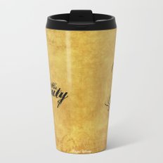 His Beauty Metal Travel Mug