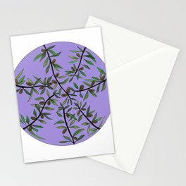 Olive Circle Stationery Cards