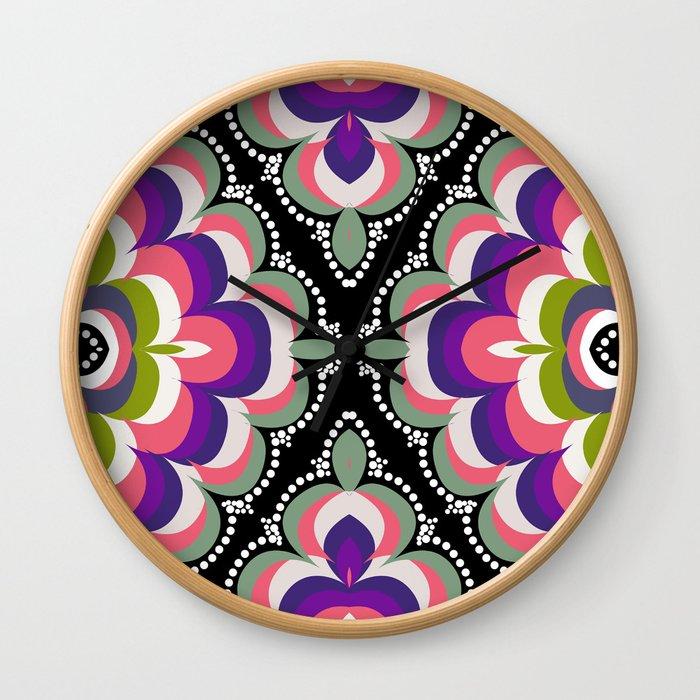 Bolly Groove Wall Clock