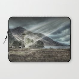 Glenfinnen Monument, Western Highlands, Scotland - Landscape Laptop Sleeve