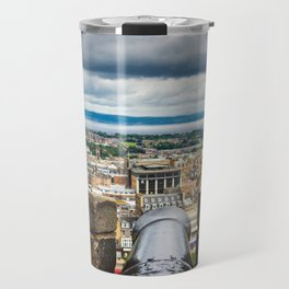 View from Edinburgh Castle, Scotland Travel Mug
