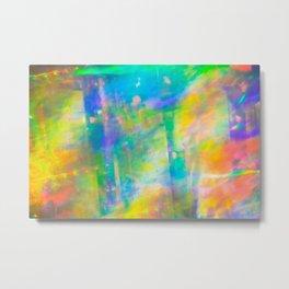 Prisms Play of Light 3 Metal Print