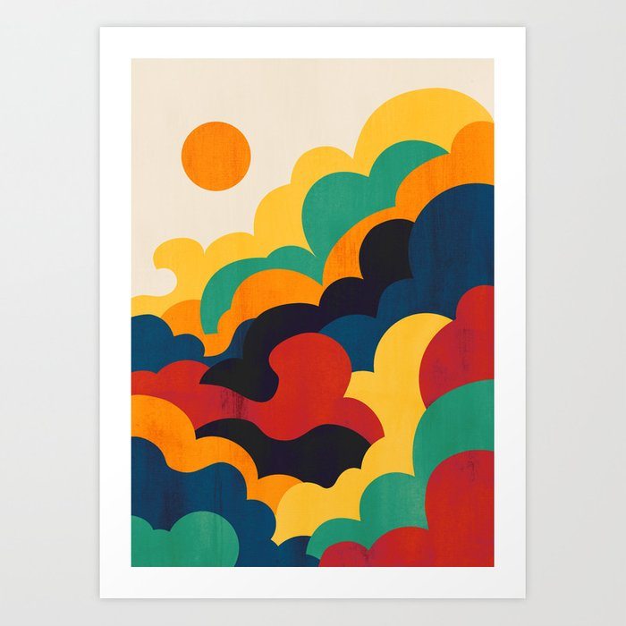 Cloud nine Kunstdrucke