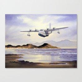 Short Sunderland Aircraft Canvas Print