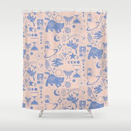 Collecting the Stars Shower Curtain