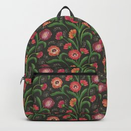 Flower ladies pattern Backpack