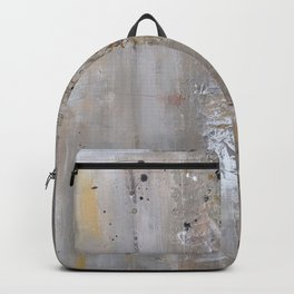 Silver and Gold Abstract Backpack