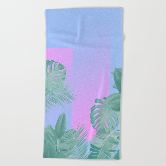 The things that I see Beach Towel