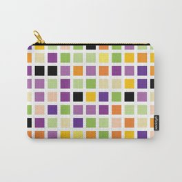 City Blocks - Eggplant #490 Carry-All Pouch