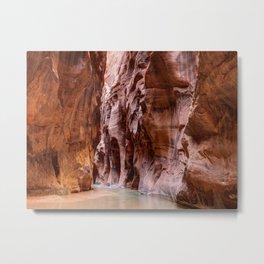 The Narrows Zion National Park Utah Metal Print