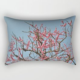 Japanese Plum Blossoms Rectangular Pillow