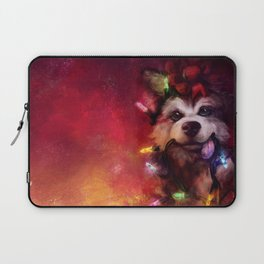 Husky Holidays Laptop Sleeve