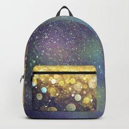 Gold Bokeh Gradient Backpack