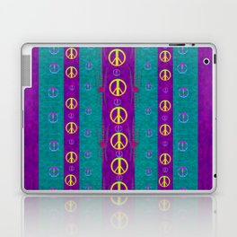 Peace be with us in this wonderful year in true love Laptop & iPad Skin