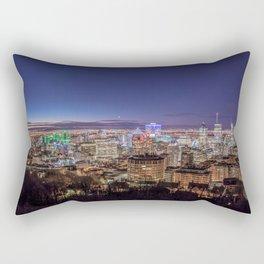 Montreal Night Moves Rectangular Pillow