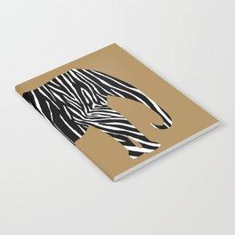 Zebra Elephant Safari Notebook
