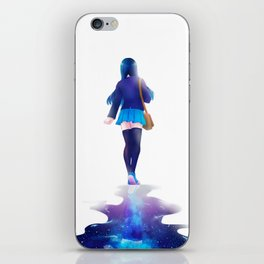 Walk among the stars iPhone Skin