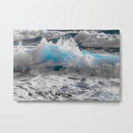Wave Series Photograph No. 2 Metal Print