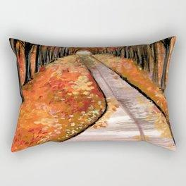 Leaves, Please. Rectangular Pillow