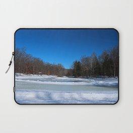 Oak Openings in Winter Laptop Sleeve
