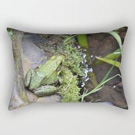 Frog, Not Toad Rectangular Pillow