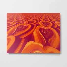 Spreading Love Metal Print