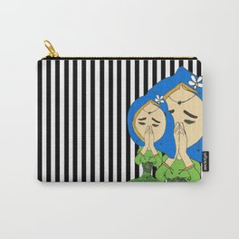 Namaste Colorful   Painting by Elisavet #society6 Carry-All Pouch