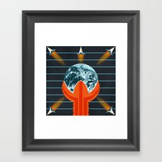 Dune Framed Art Print