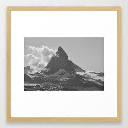 Gneiss Fire Framed Art Print