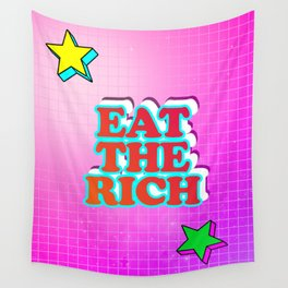 Eat The Rich Wall Tapestry