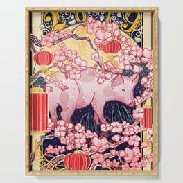 Year of the Pig Serving Tray