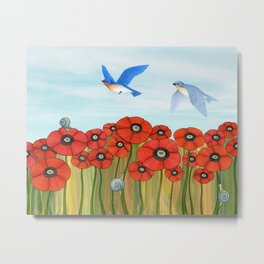 summer flight Metal Print
