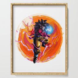 Goku ss4 Dragon Ball GT anime Super Serving Tray