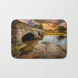 Pont Pen-y-llyn Bridge Snowdonia Bath Mat