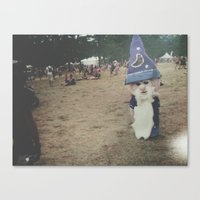 wizard Canvas Prints featuring Wizard by Gabrielle Wall