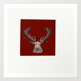 Winter Rack Art Print